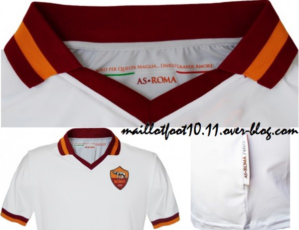 AS Roma Away Shirt for the 2013 14 Season Plus Third Shirt Choices [PHOTOS]