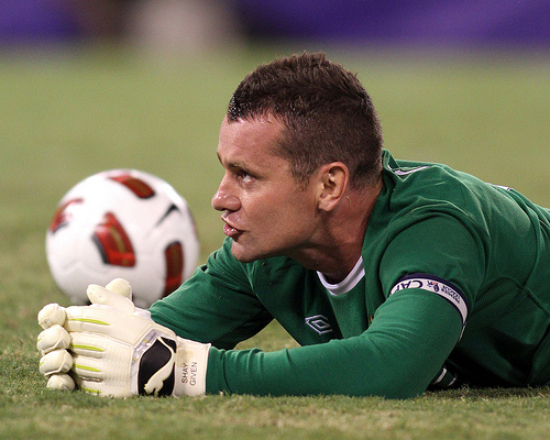 shay given Liverpools Brendan Rodgers Lines Up Move for Goalkeeper Shay Given: Nightly Soccer Report