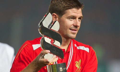 steven gerrard Watch Steven Gerrards Standing Ovation At Liverpool For His Testimonial Match [VIDEO]