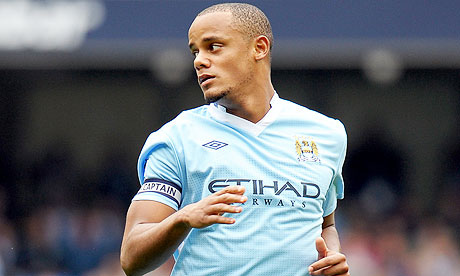 vincent kompany Manchester City Captain Vincent Kompany Ruled Out For At Least Four Weeks With Groin Injury