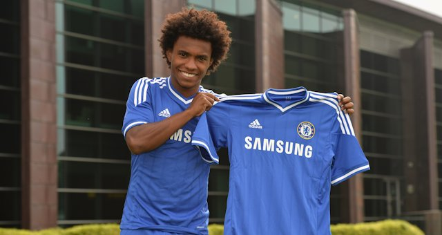 willian2 Chelsea Complete £32million Signing of Willian After Work Permit Granted