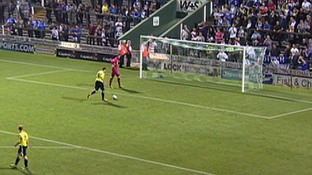 yeovil birmingham Yeovil Lets Birmingham City Score Unopposed Goal Against Them [VIDEO]