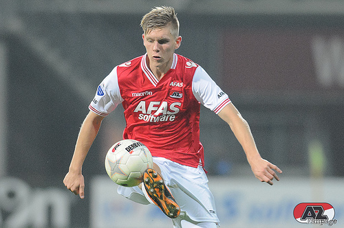 Aron Johannsson US International Aron Johannsson Scores a Brilliant Goal For AZ Alkmaar [VIDEO]
