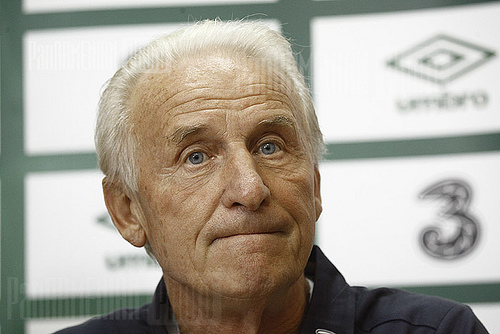 Giovanni Trapattoni Giovanni Trapattoni Quits Republic of Ireland Job After Defeat to Austria: Daily Soccer Report