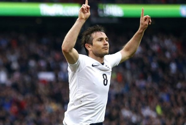 Lampard 600x405 100 Caps and Counting: Frank Lampard Deserves One Last Crack At Major Tournament With England