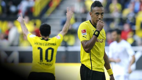 MKHITARYAN PEA 600x337 Dortmund Showing That Theres Life After Gotze, But Can Aubameyang And Mkhitaryan Fire Them To Glory?