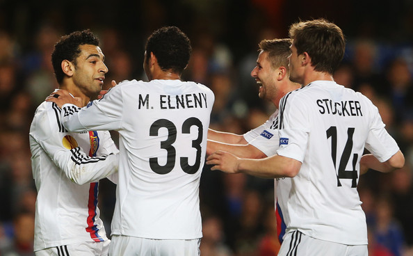 Mohamed Salah FC Basel Defeat Chelsea in Champions League Thanks In Part to This Beautiful Goal  [VIDEO]