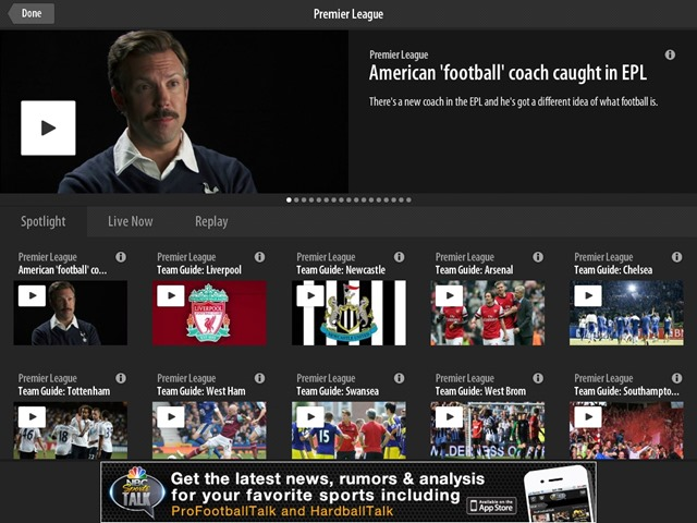 NBC Sports LIve Extra NBC Will Make All Premier League Games Available On Demand via NBC Sports Live Extra Beginning This Weekend