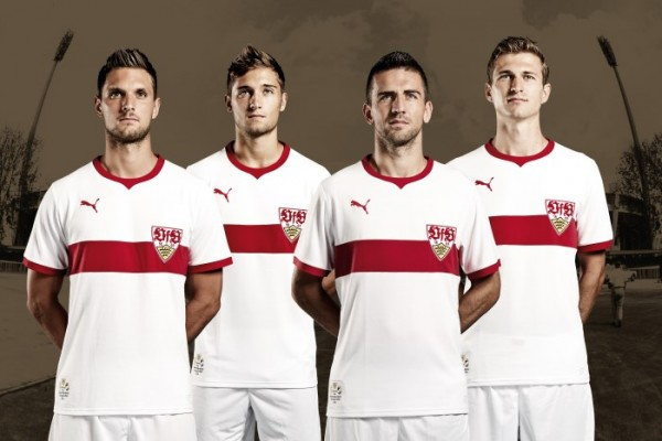 Stuttgart home shirt 120 anniversary 600x400 VfB Stuttgart 120 Year Anniversary Home Shirt for 2013 14 Season [PHOTOS]