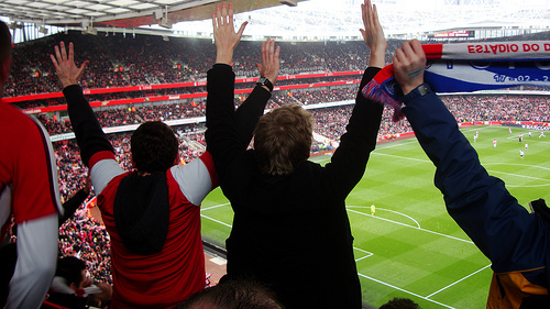 arsenal fans In the Closest North London Rivalry In Years, Who Will Reign Supreme? Arsenal or Spurs?