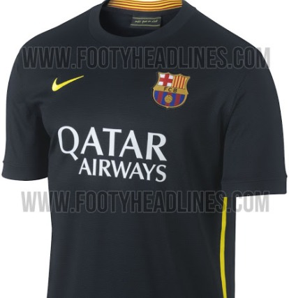 barcelona third shirt top Barcelona Third Shirt for the 2013 14 Season: Leaked [PHOTOS]