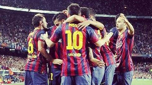 barcelona Barcelona 3 2 Sevilla: Match Highlights [VIDEO]