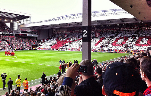 bill shankly tribute Liverpool vs Manchester United Match Highlights [VIDEO]