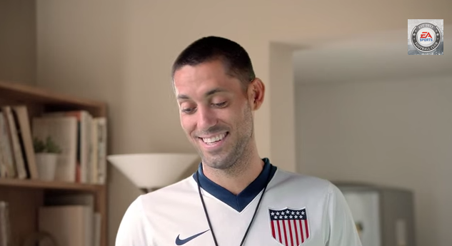 clint dempsey fifa 14 Clint Dempsey Stars In New FIFA 14 Commercial [VIDEO]