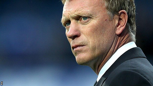 david moyes1 Why Manchester United Are The Most Vulnerable of the Top Four Sides This Season