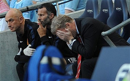 david moyes4 Why Manchester United Are Having Their Worst Start For 24 Years