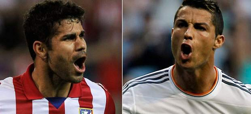 diego costa cristiano ronaldo La Liga Roundup. Gameweek 7: Atletico Derby Win Widens The Gap