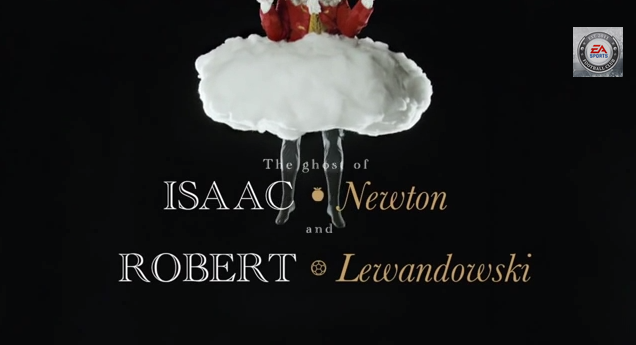 fifa 14 lewandowski Robert Lewandowski Stars in New FIFA 14 Video Alongside the Ghost of Isaac Newton [VIDEO]