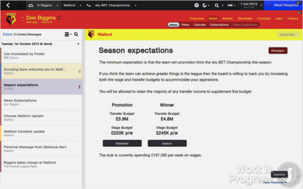 fm 14 screenshot 600x374 Football Manager 14: New Features Announced For Popular Computer Game