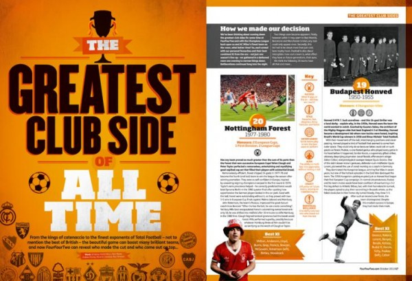 four four two article 600x409 The Top 20 Greatest Soccer Club Teams Of All Time, Complete With Video Evidence