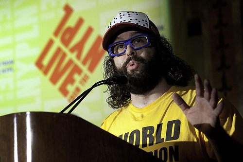 judah friedlander 30 Rock Actor Judah Friedlander Tells the Story About the Day Bob Bradley Cheated [VIDEO]