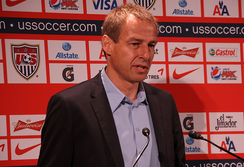 jurgen klinsmann Jurgen Klinsmann Not Happy with Choice of Mexican Referee vs Costa Rica: Nightly Soccer Report
