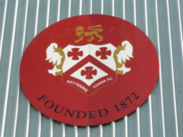 kettering town fc sign 600x450 Help Save Kettering Town From Extinction By Making a Small Donation