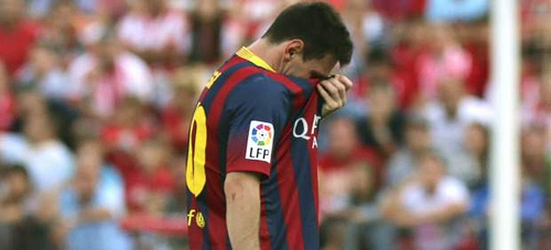 messi Barcelonas Leo Messi Out for 2 3 Weeks With Hamstring Injury