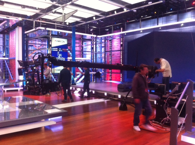 nbc studios stamford Watch Behind the Scenes of NBCs Premier League TV Coverage [VIDEO]