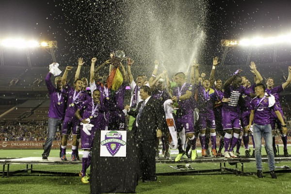 orlando city champions 600x400 Orlando City Breaks Record Attendance With 20,000+ Fans at USL Pro Final: Daily Soccer Report