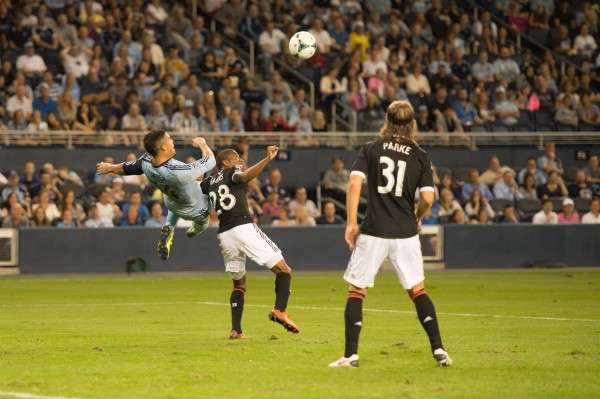 philadelphia union sporting kc four 600x399 Images From Sporting Kansas City 0 1 Philadelphia Union [PHOTOS]