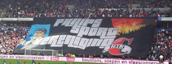 psv gta5 banner 600x223 PSV Eindhoven Supporters Unveil GTA V Banner At Match Against Ajax [VIDEO]