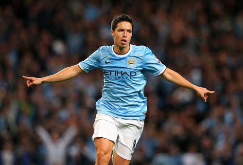 Manchester City's Samir Nasri Focused On Bayern Munich