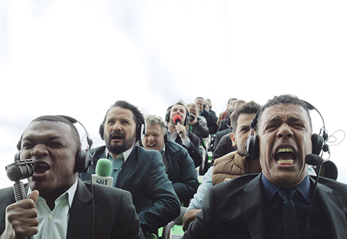 soccer commentators New TV Commercial Captures The Rollercoaster Ride of a Premier League Season [VIDEO]