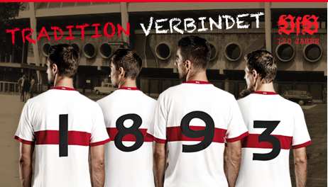 stuttgart anniversary shirt VfB Stuttgart 120 Year Anniversary Home Shirt for 2013 14 Season [PHOTOS]