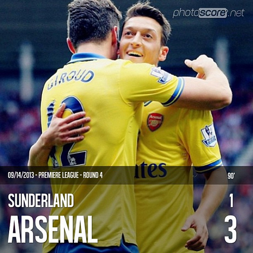 sunderland arsenal Sunderland vs Arsenal Match Highlights [VIDEO]