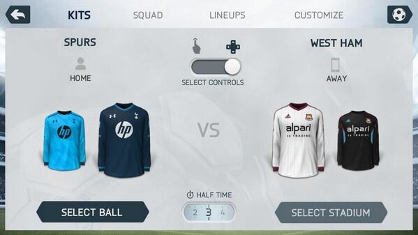 tottenham third shirt Image of Tottenham Hotspur Third Shirt Leaked On FIFA 14 [PHOTO]