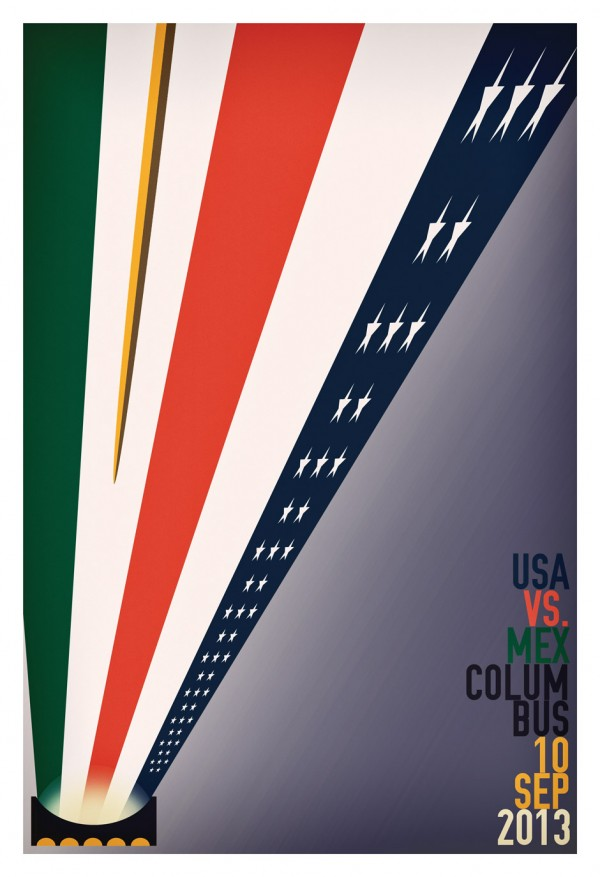 usa mexico poster 600x877 ESPN Scores Highest Overnight Rating Ever for a FIFA World Cup Qualifying Match