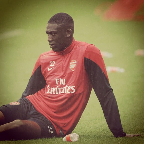 yaya sanogo Yaya Sanogo Injury Leaves Arsenal With Olivier Giroud As Only Fit Striker: Nightly Soccer Report