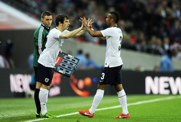 BAINES COLE 600x404 Leighton Baines Must Take His Chance And Show Why Hes Englands Best Left Back