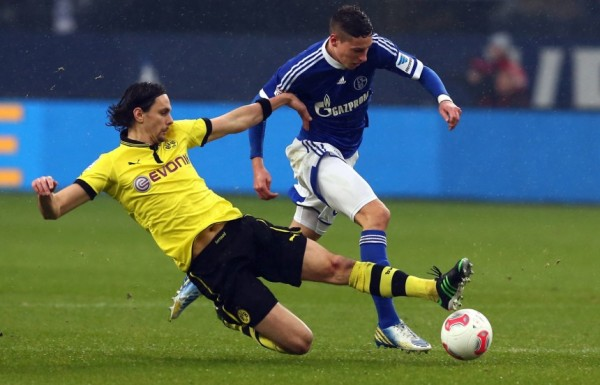 BVB S04 600x385 The Top 5 Must See Soccer Matches On Television & Internet This Weekend