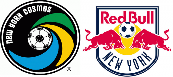 Cosmos Red Bulls 600x269 New York Red Bulls and New York Cosmos Both On The Verge Of Clinching Silverware