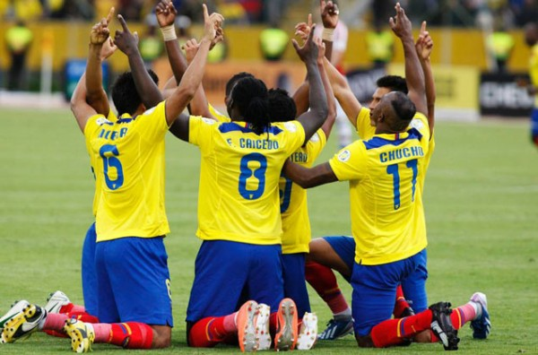 ECUADOR 600x396 The Top 5 Must See Soccer Matches On Television This Weekend