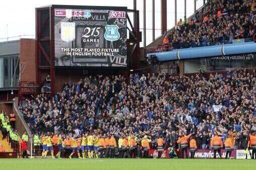 Everton Away Fans Premier League Away Day Experience At Villa Park: The Heart Of English Football