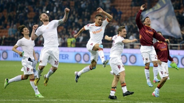 ROMA 600x337 The Top 5 Must See Soccer Matches On Television This Weekend