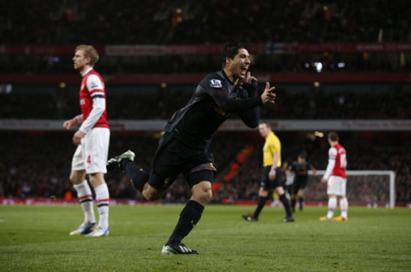 Suarez Arsn 600x397 The Top 5 Must See Soccer Matches On Television and Internet This Weekend
