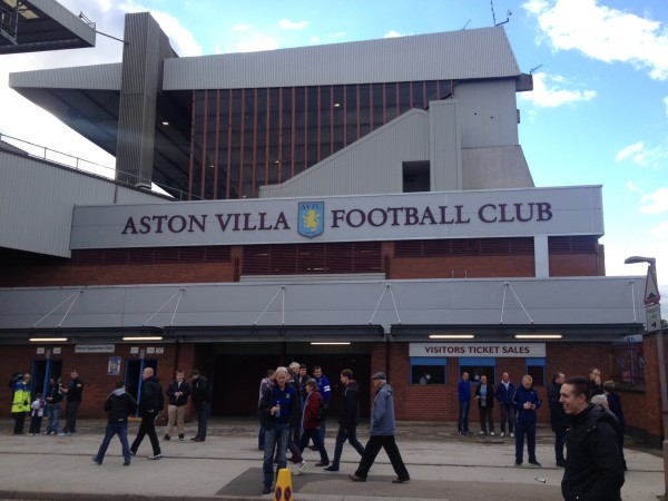 Villa Park 600x450 Premier League Away Day Experience At Villa Park: The Heart Of English Football