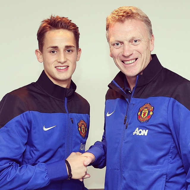 adnan januzaj Adnan Januzaj Signs Five Year Contract With Manchester United [PHOTO]
