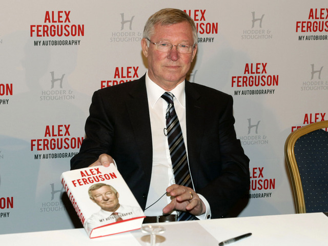alex ferguson Sir Alex Ferguson Launches His New Autobiography; UK Press Salivates Over Every Word: Daily Soccer Report