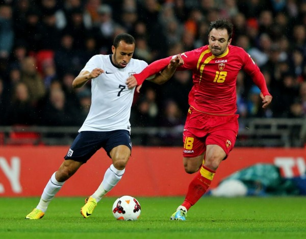 andros townsend1 600x469 Andros Townsend Scores Long Range Goal On His England Debut to Help Defeat Montenegro [GIF]